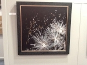 Photo on 76cm x 76cm framed aluminium
